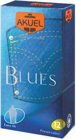 Akuel Blues Classico 12pz Farmacia