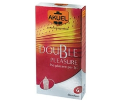 Akuel Double Pleasure Stimolante 6pz Farmacia