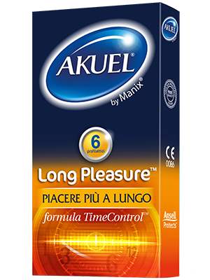 Akuel Long Pleasure Ritardante 6pz Farmacia
