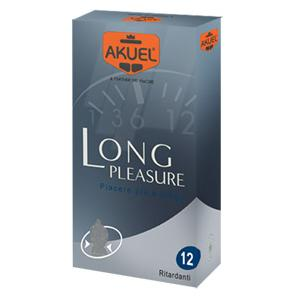 Akuel Long Pleasure Ritardante 12pz Farmacia