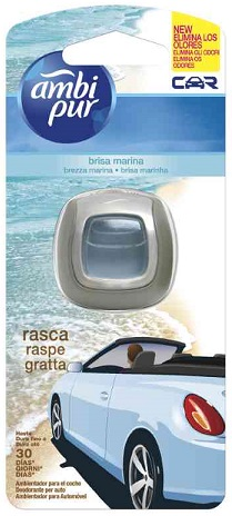 Ambi Pur Car Brezza Marina 6 x 2ml