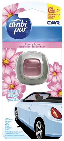 Ambi Pur Car Fiori Delicati 6 x 2ml