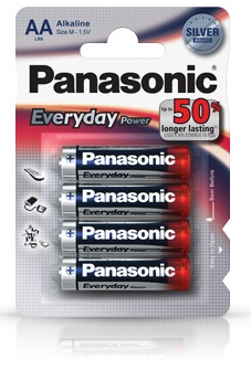 Panasonic Stilo Everyday Silver AA 12 x 4pz