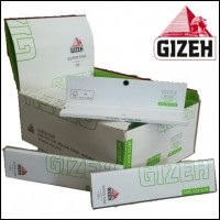 Cartina Gizeh Super Fine Verde King Size Slim x 50pz