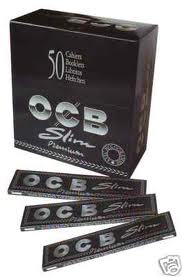 Cartina OCB Premium Nera King Size Slim x 50pz