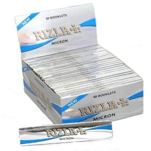 Cartina Rizla Micron King Size Slim x 50pz
