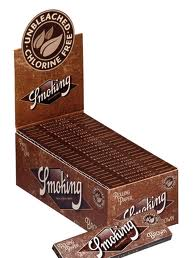 Cartina Smoking Brown Corta x 50pz