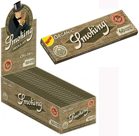 Cartina Smoking Organic Corta x 50pz