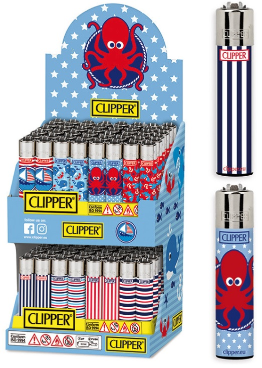 Accendino Clipper Large Enjoy Summer J Expo x 96pz