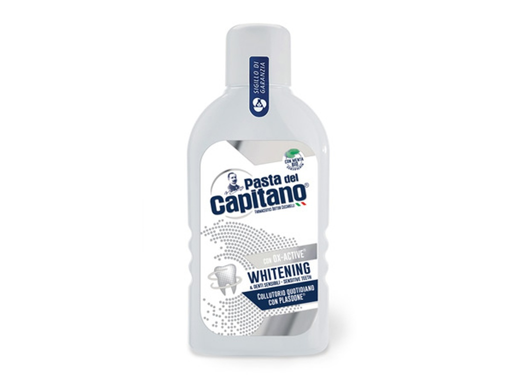 Collutorio Whitening Pasta del Capitano 400ml