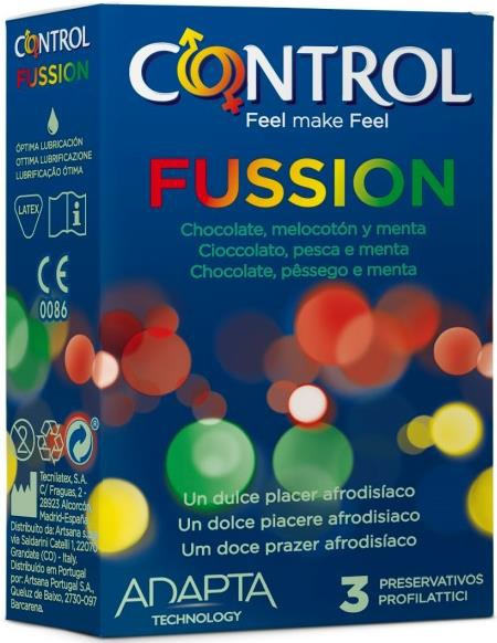 Control Sex Senses Fussion 3pz Tabaccheria