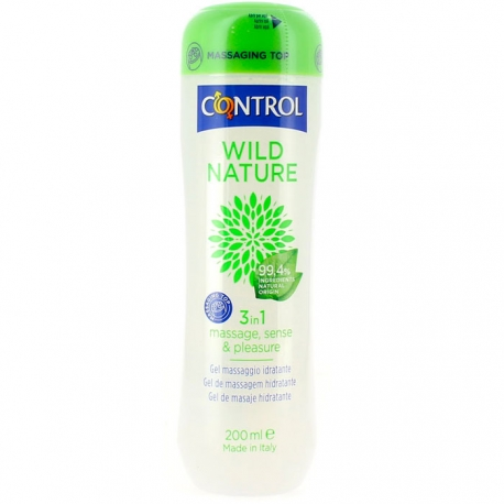 Control Wild Nature 3in1 Massage, Sense & Pleasure