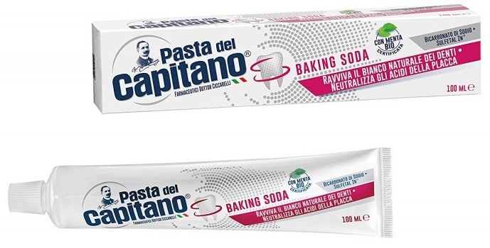 Dentifricio Pasta del Capitano Baking Soda 75ml