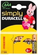 Duracell Ministilo Simply AAA 10 x 8pz