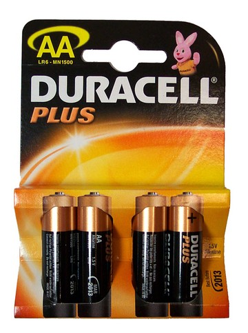 Duracell Stilo Plus AA 20 x 4pz