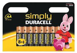 Duracell Stilo Simply AA 12 x 8pz