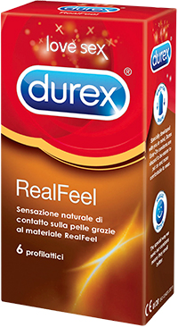 Durex Real Feel senza lattice 4pz Farmacia