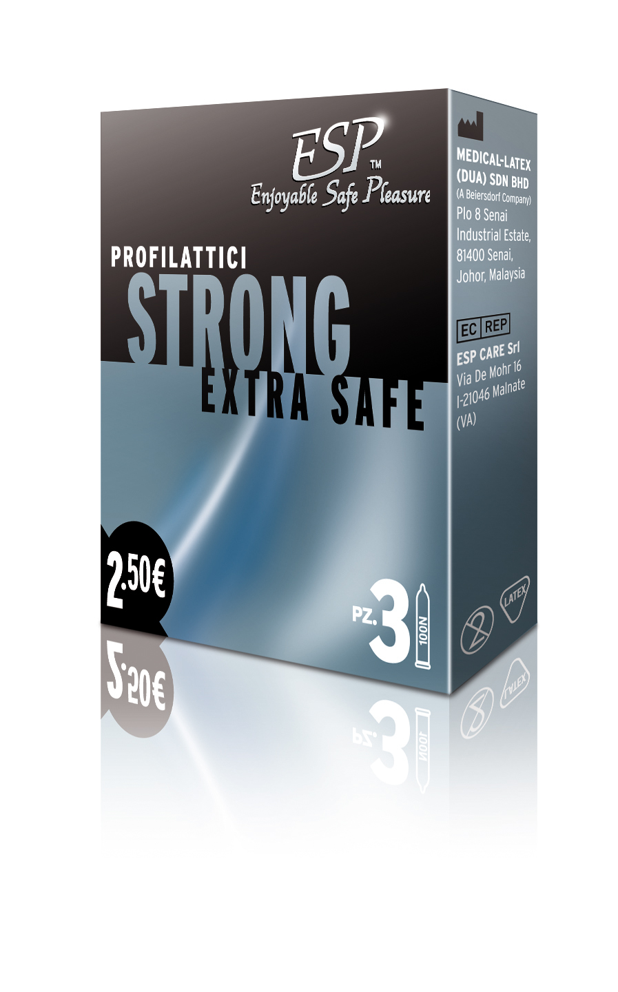 ESP Strong Resistenti 3pz