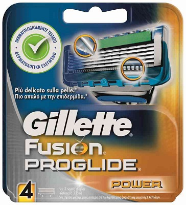 Gillette Fusion Proglide Power x 4pz