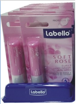 Labello Soft Rosè x 12pz
