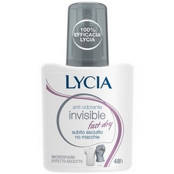 Lycia Invisible Fast Dry No Gas Deodorante 75ml