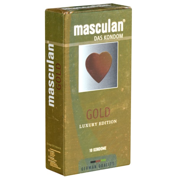 Masculan Gold Luxury Edition 10pz