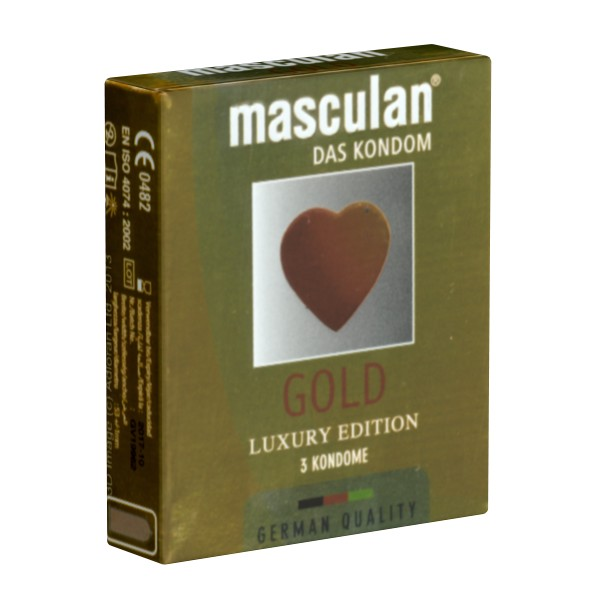 Masculan Gold Luxury Edition 3pz