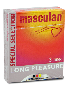 Masculan Long Pleasure 3pz
