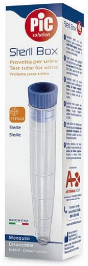 Pic Steril Box provetta sterile per urine 10ml