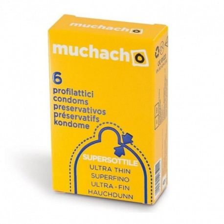 Muchacho Ultra Thin Ultra Sottile 6pz