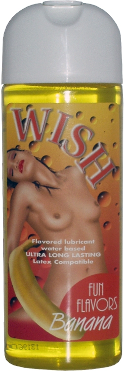 Wish Fun Flavors Banana by Intimateline