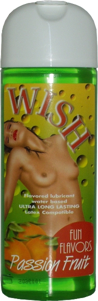 Wish Fun Flavors Passion Fruit by Intimateline