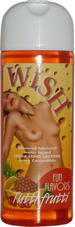 Wish Fun Flavors Tutti Frutti by Intimateline
